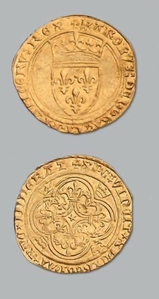 Écu d'or à la couronne. Crémieu. D. 369....