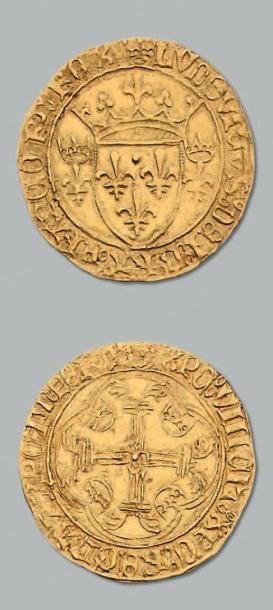 Écu d'or à la couronne. D. 539. TTB à superbe....