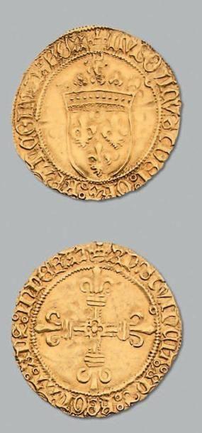 Écu d'or au soleil. Toulouse. D. 544. TT...