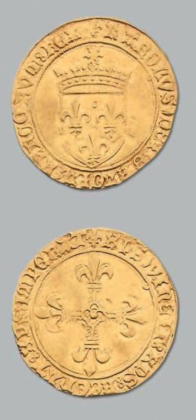 Écu d'or au soleil. Toulouse. D. 575. TTB....