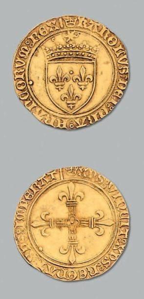 Écu d'or au soleil. Saint-Lô. D. 575. TTB...