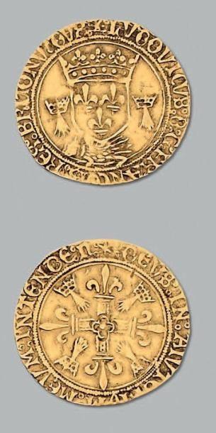 Écu d'or au porc-épic, de Bretagne. 2e type....