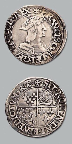 Teston du Dauphiné, 2e type. Romans. D. 823....