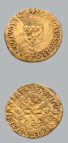 Écu d'or à la croisette. Toulouse. D. 889....