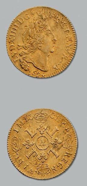 Louis d'or aux quatre L. 1694. Paris. Réf....