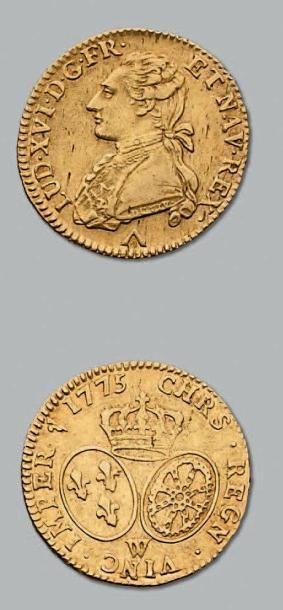 Louis d'or au buste habillé. 1773. Lille....