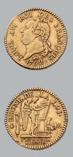Louis d'or constitutionnel de 24 livres....