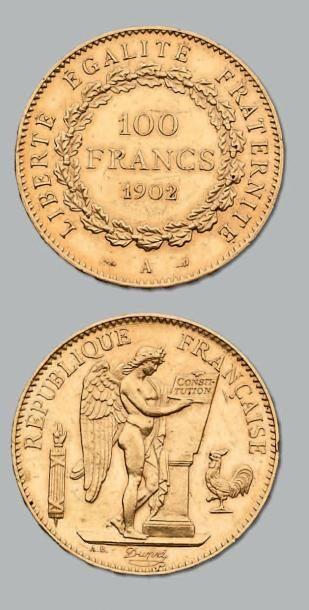 100 Francs or, Génie. 1902. Paris. G. 1137....