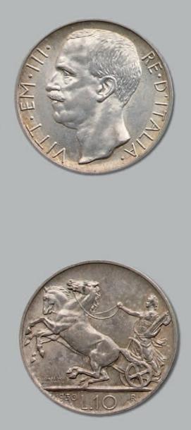 10 Lire. 1930. kM. 68.1. Superbe.