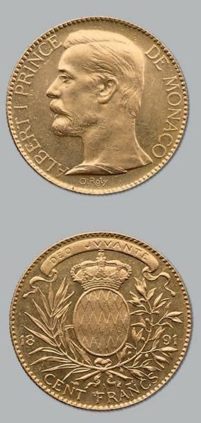 100 Francs or. 1891. Fr. 13. TTB à superbe....