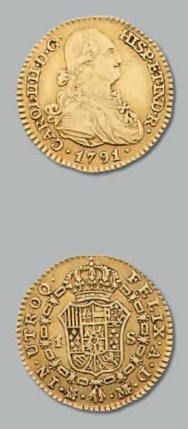 Escudo: 3 exemplaires. 1791 et 1798 (2 exemplaires)....