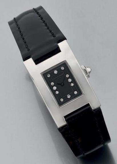 Montre-bracelet de dame rectangulaire en...