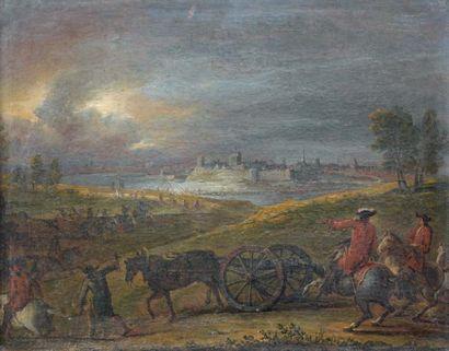 Atelier de Frans Van der MEULEN (1632-1690)