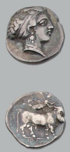 Naples Statère (400-360 av. J.-C.). 7,23...
