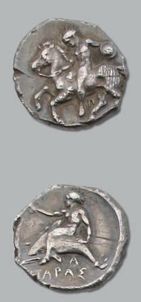 Statère (380-345 av. J.-C.). 7,81 g. Cavalier...
