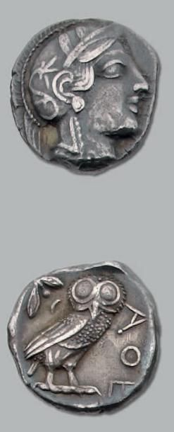 Tétradrachme (420-404 av. J.-C.). 17,03 g....