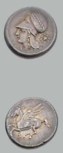 Statère (350-306 av. J.-C.). 8,51 g. Tête...