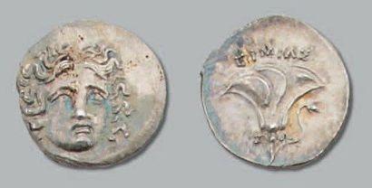 Tétrobole au type rhodien frappé en Macédoine...