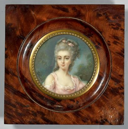 Attribué à Antoine BERJON (1754-1843)