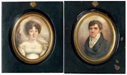 Attribué à Rodolphe BELL dit BEL (expose aux Salons de 1822, 1824 et 1827)