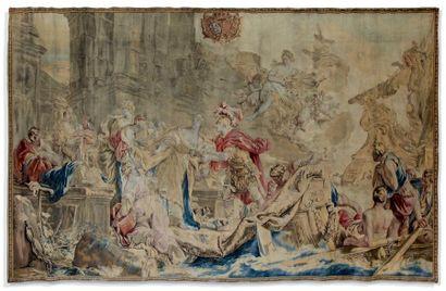 Tapisserie de la manufacture de Beauvais...