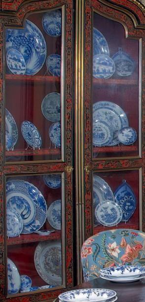 Lot de porcelaines de Chine et du Japon à...