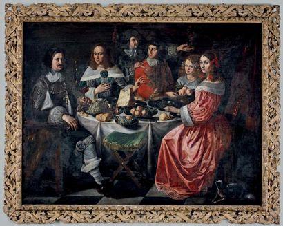 ÉCOLE FRANCO-FLAMANDE du milieu du XVIIe siècle
