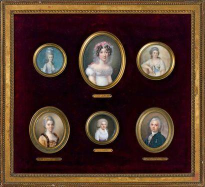 ÉCOLE FRANÇAISE des XVIIIe et XIXe siècle