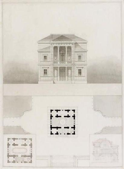 Attribué à Pierre-Louis GOSSET (1802-1875)