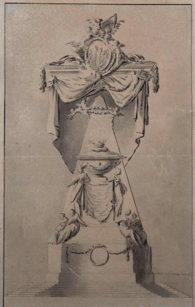 Attribué à Marie Joseph PEYRE (Paris, 1730-1788)