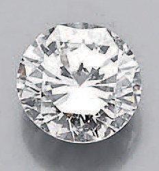 Diamant de taille brillant sur papier pesant:...