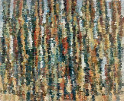 Antoine MALLIAKARIS dit MAYO (1905-1990) Sans titre Huile sur toile, porte le timbre...