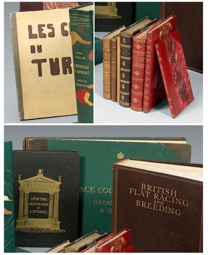 Lot de douze volumes reliés ou en feuilles:...