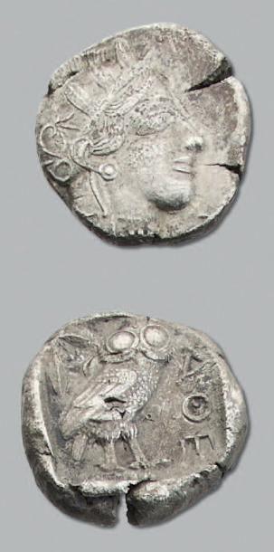 ATTIQUE Athènes (après 149 av. J.-C.) Tétradrachme....
