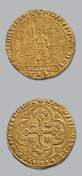 PHILIPPE VI de VALOIS (1338-1350) Écu d'or...