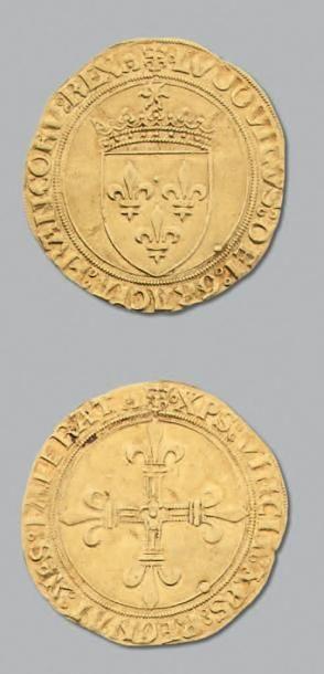 LOUIS XII (1498-1514) Écu d'or au soleil....