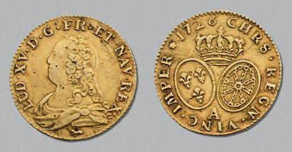 LOUIS XV (1715-1774) Louis d'or aux lunettes....