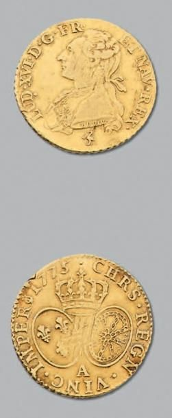 LOUIS XVI (1774-1793) Louis d'or au buste...