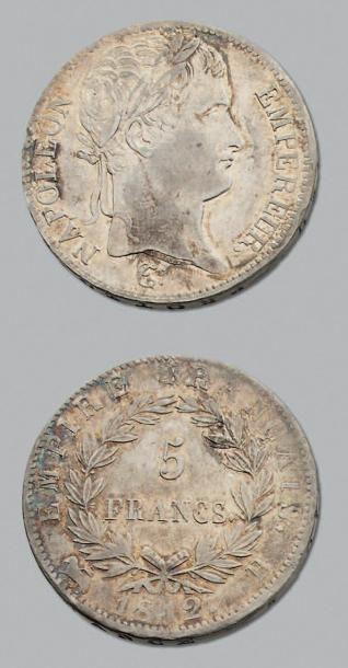 PREMIER EMPIRE (1804-1814) 5 Francs. 1812....