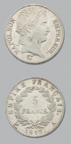 PREMIER EMPIRE (1804-1814) 5 Francs. 1813....