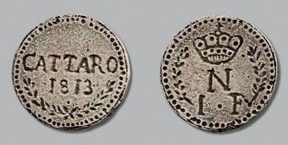 SIÈGE de CATARO (Montenegro) 1813. Franco....