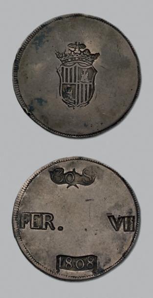 SIÈGE de PALMA de MAJORQUE (Espagne, 1808)...