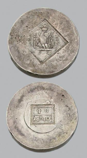 SIÈGE de ZARA (Croatie, 1813) 18 Francs 40...