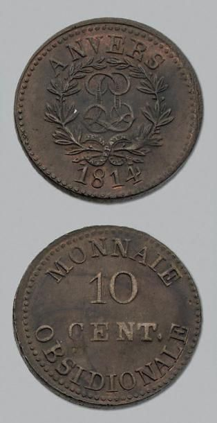 PREMIÈRE RESTAURATION (1814-1815) 10 centimes....