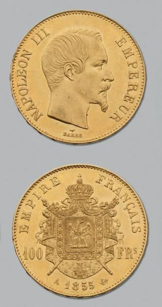 SECOND EMPIRE (1852-1870) 100 Francs or....