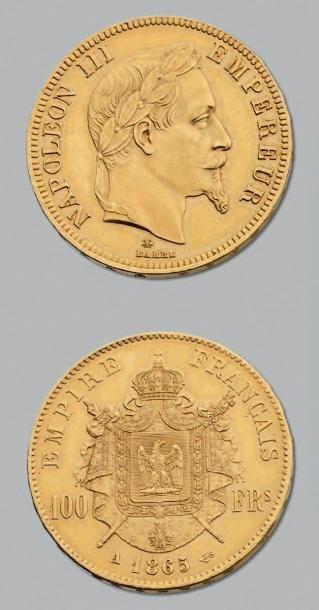 SECOND EMPIRE (1852-1870) 100 Francs en or,...
