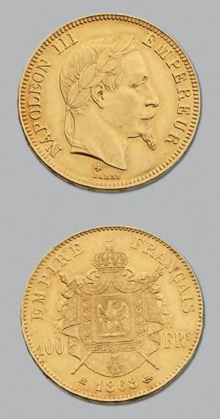SECOND EMPIRE (1852-1870) 100 Francs or,...