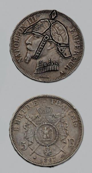 SECOND EMPIRE (1852-1870) 5 Francs. 1867....