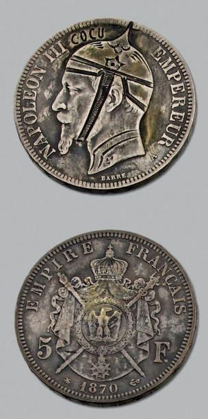 SECOND EMPIRE (1852-1870) 5 Francs. 1870....