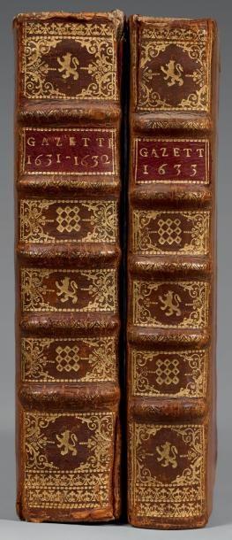 GAZETTE [DE FRANCE]. 1631-1745. 81 années...